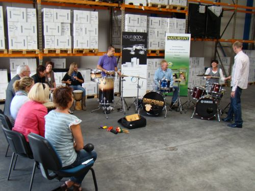 Drum workshops volgen